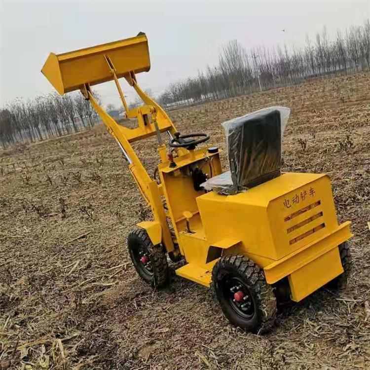 小型轮式装载机厂家 电动装载机 工地小型电铲车价格