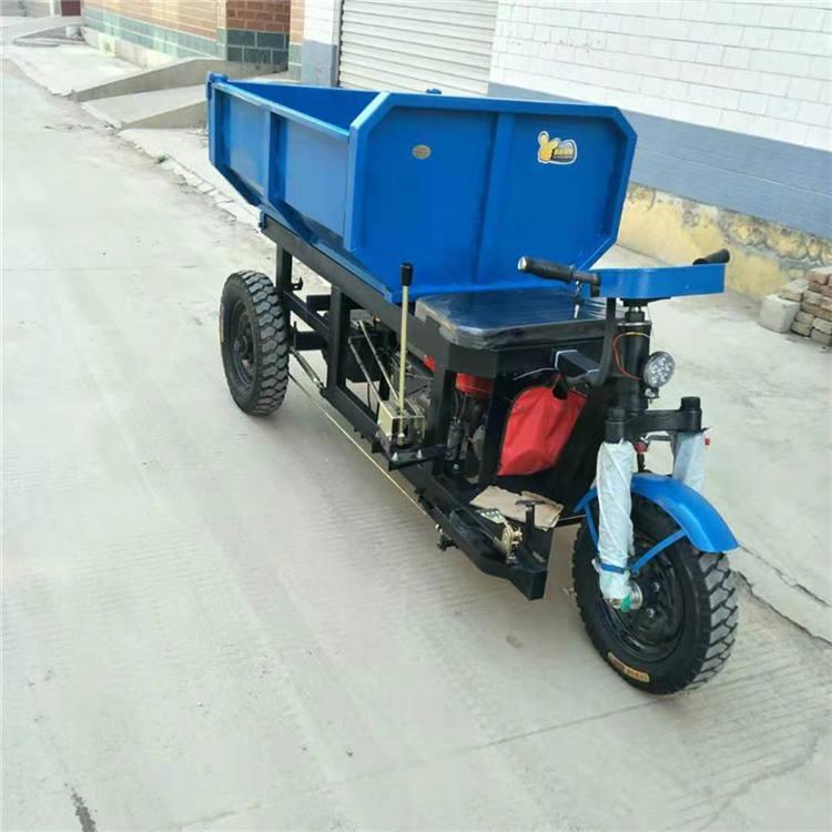 农用多用途柴油三轮车井下巷道卸料车 工程工地用三轮车