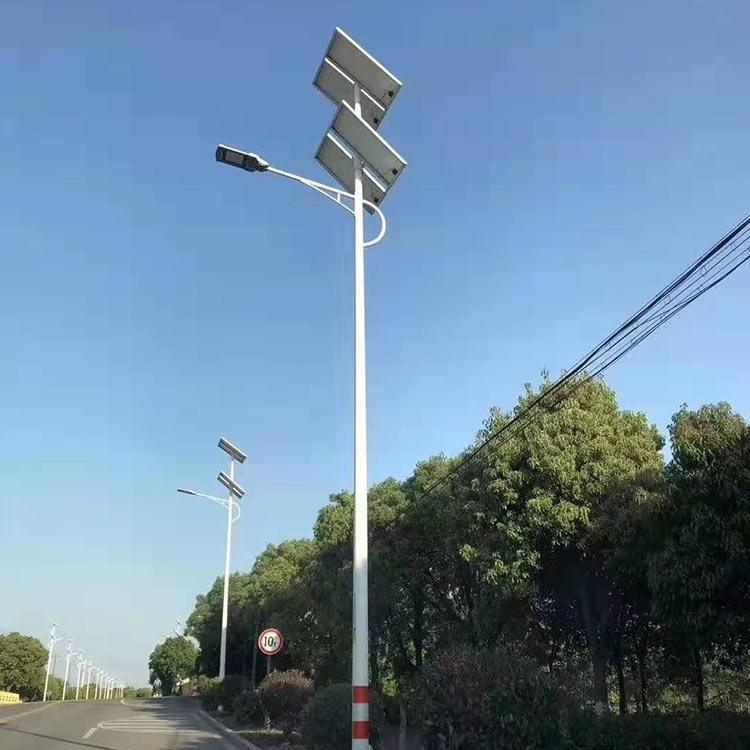 厂家支持定制led大功率太阳能路灯 45Wled路灯批发价格 军颍售后完善