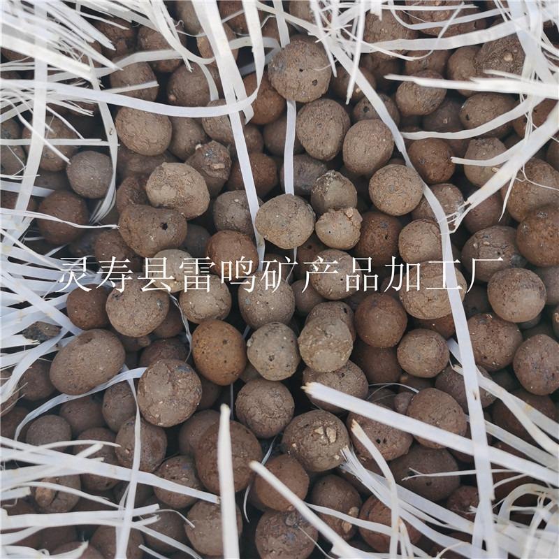 雷鸣大颗粒轻质陶粒 园艺陶粒厂家