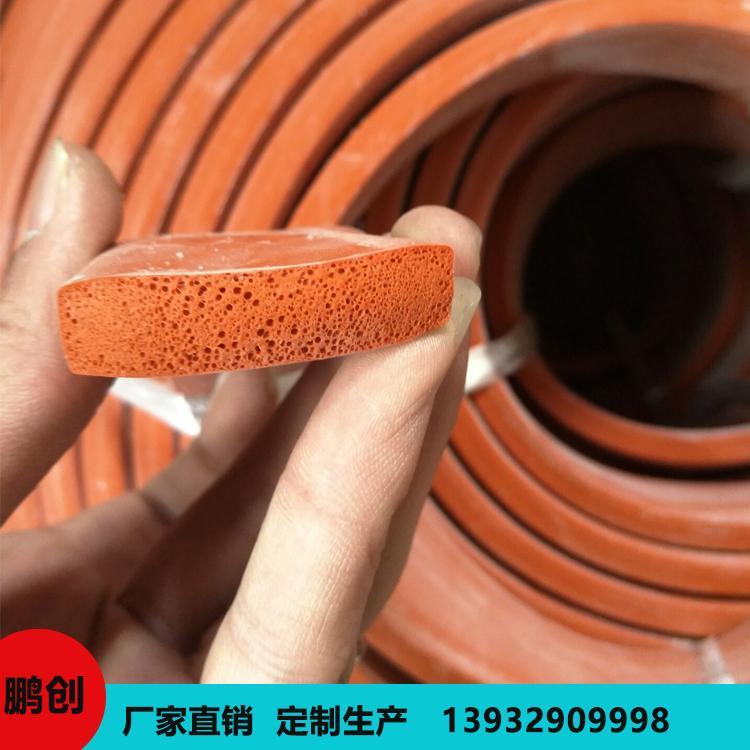 鹏创 高温硅胶密封条 各种硅胶密封条 定制安装