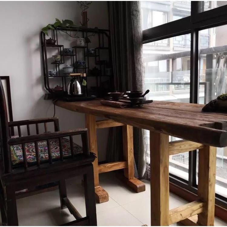 护农老榆木家具市场价格 原木实木板材 实用性高多款