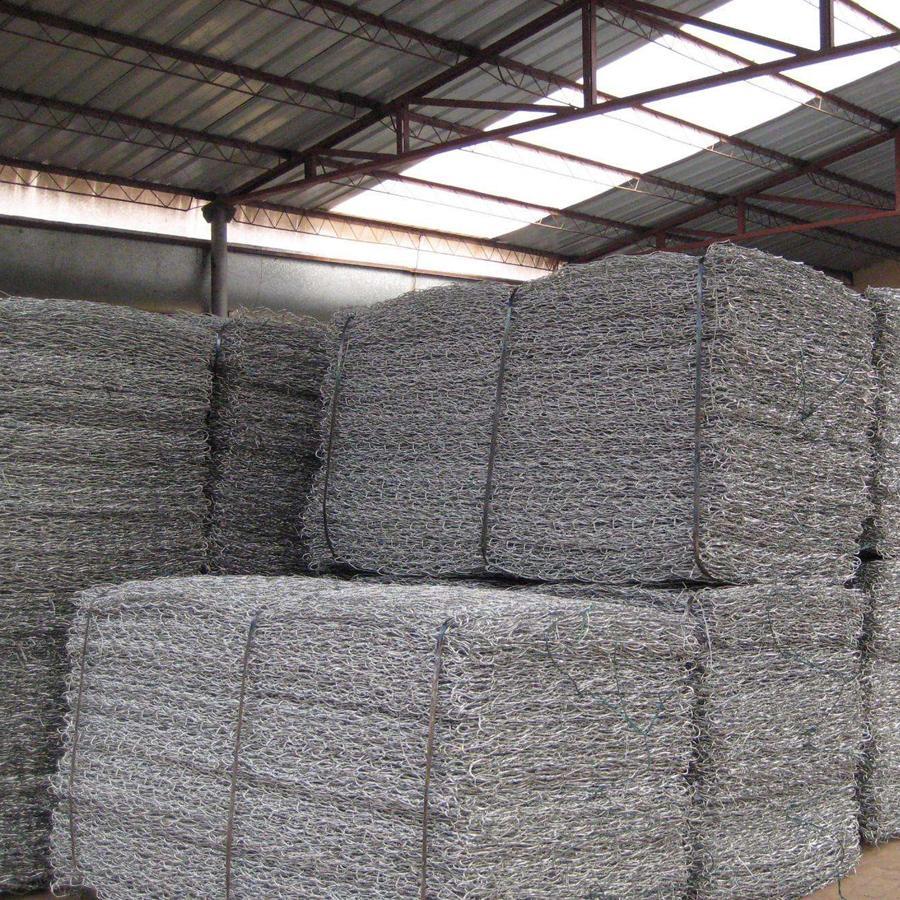 石笼网护垫 镀锌电焊石笼网