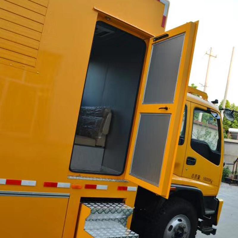 直销电源车 应急发电机组 300KW车载式发电机