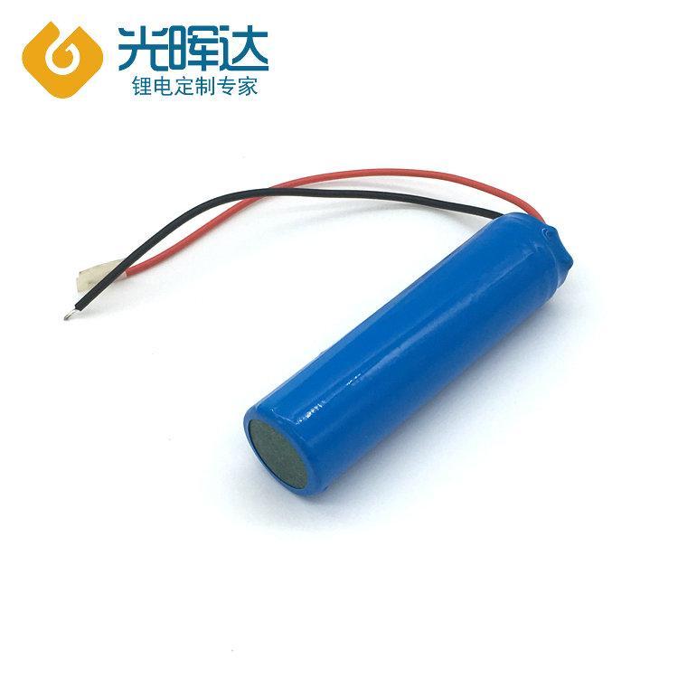 生产供应3.7v电动工具电池2000mah锂电池定制光晖达厂家
