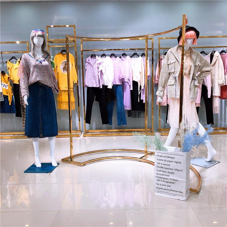 国内一二线品牌 女装折扣批发 库存尾货走份 时尚中少淑 missli剪标一手货源