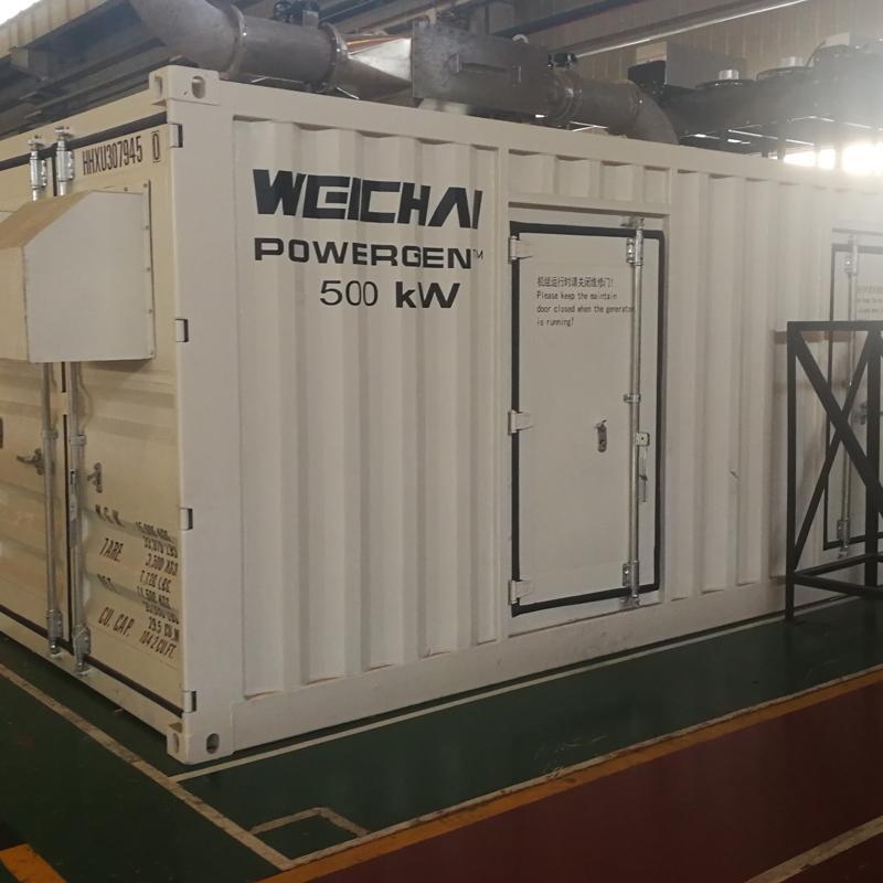 直销非标准型箱体定制 集装箱式静音防雨电站