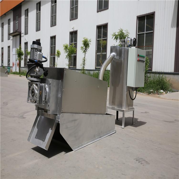 山东精锐直供污泥叠螺式脱水机 环保叠螺污泥脱水机