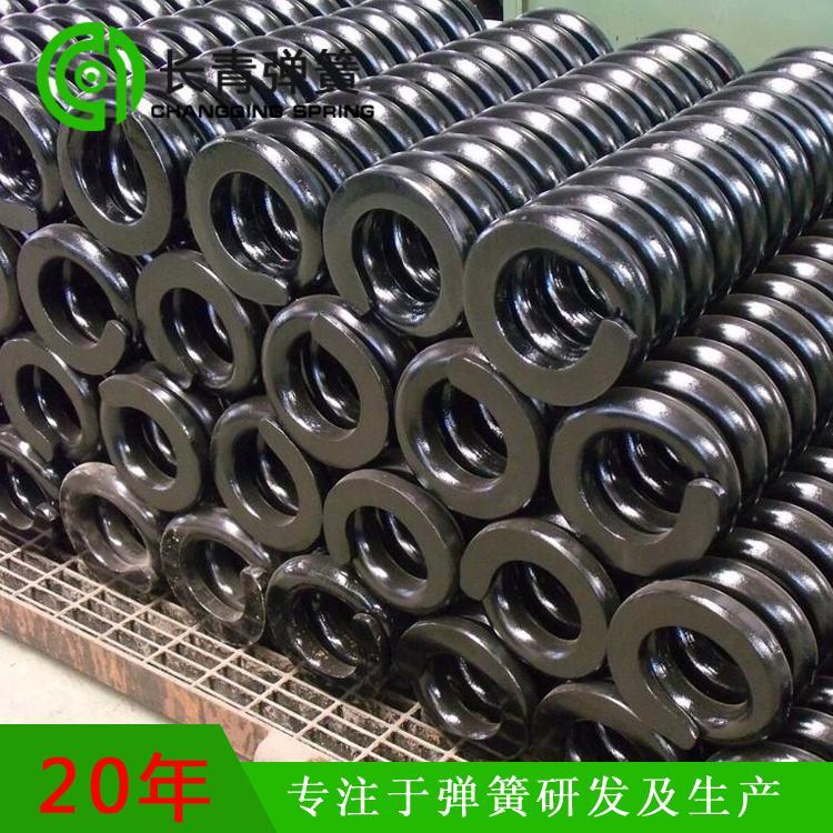 河北优质压缩弹簧厂家 长青专业生产压簧热卷弹簧
