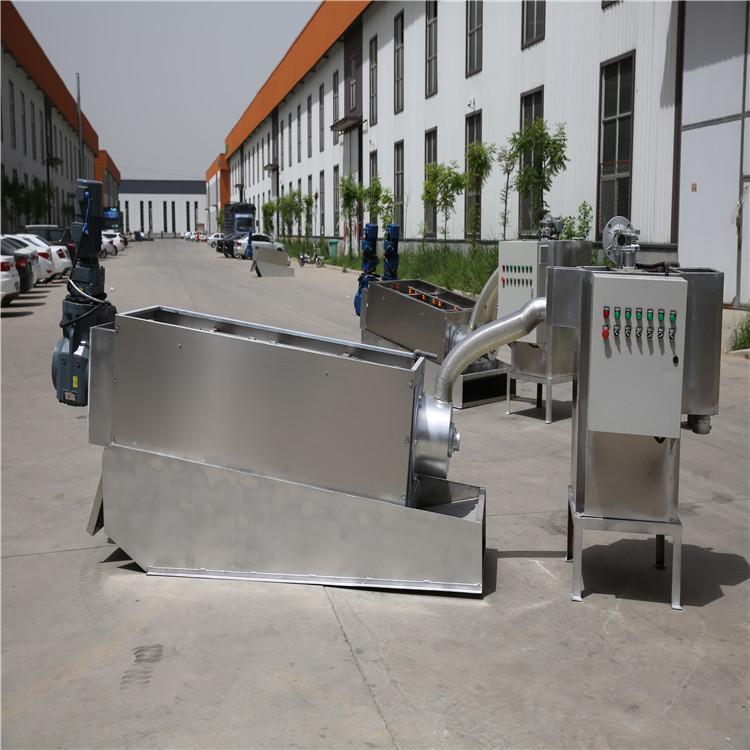 叠螺脱水机 叠螺污泥浓缩机 预浓缩叠螺脱水机 集成式污泥脱水系统 自动叠螺机