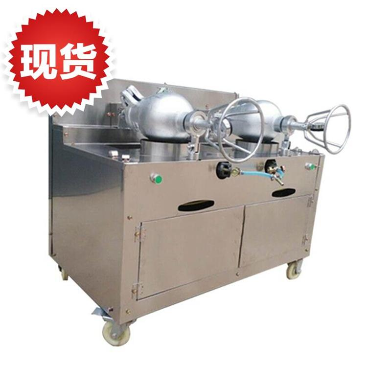 苏州煤气养生干嘣鸡机器 河北美味干蹦鸡技术