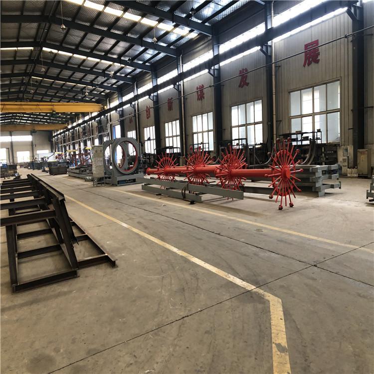 通桥厂家出售 自动化钢筋笼滚焊机 墩柱钢筋笼滚焊机