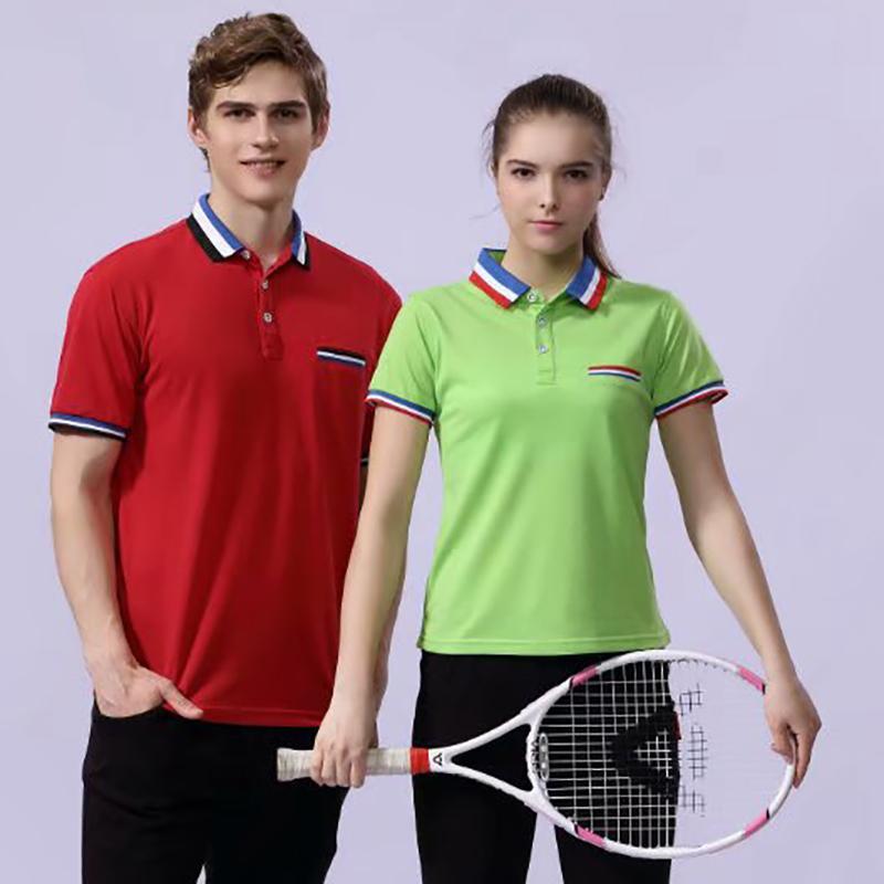T恤定制 高尔夫珠花 S-3XL码 11色 纯色团体班服 短袖广告衫 POLO 可印字-印图案
