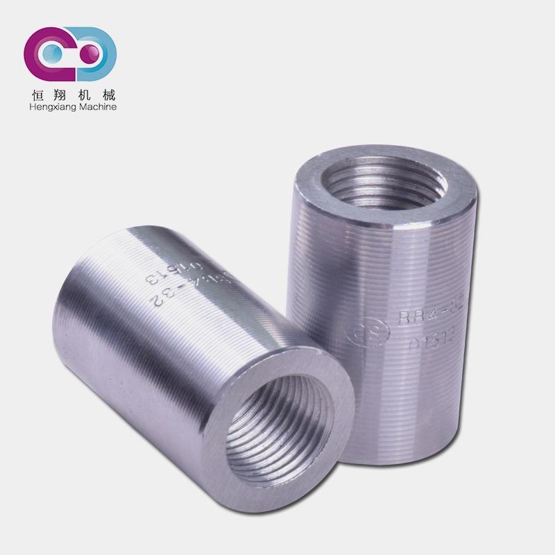 河北恒翔 钢筋直螺纹套筒 郑万铁路专用 钢筋连接 套筒生产厂家