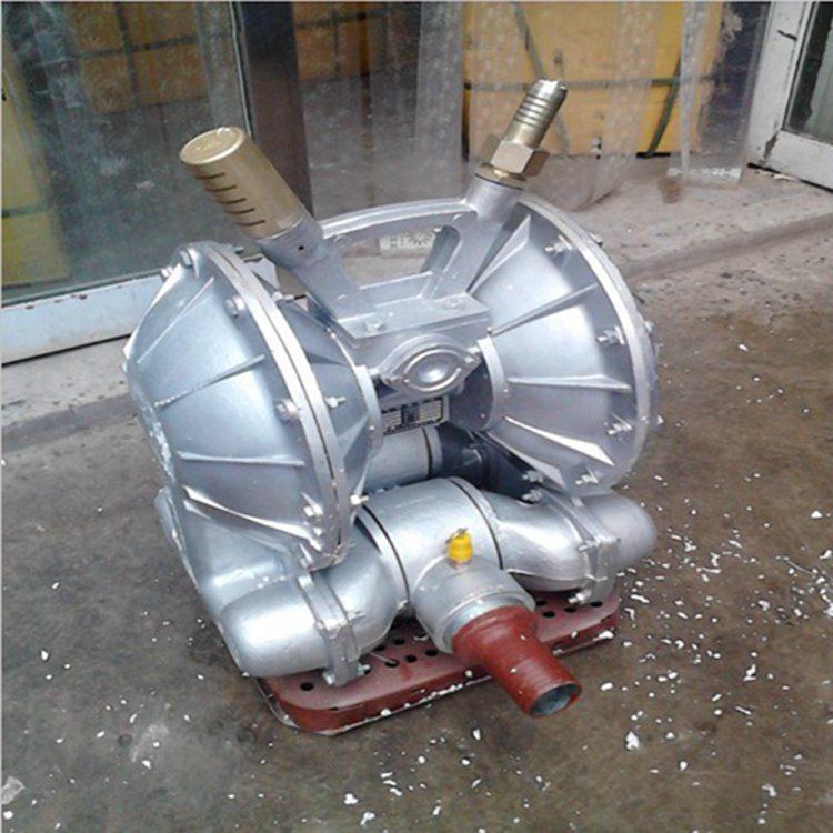 排污排沙气动隔膜泵用途 煤矿铁矿气动隔膜泵 气动隔膜泵寿命