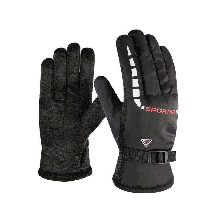 保暖手套户外骑行防风加绒加厚手套