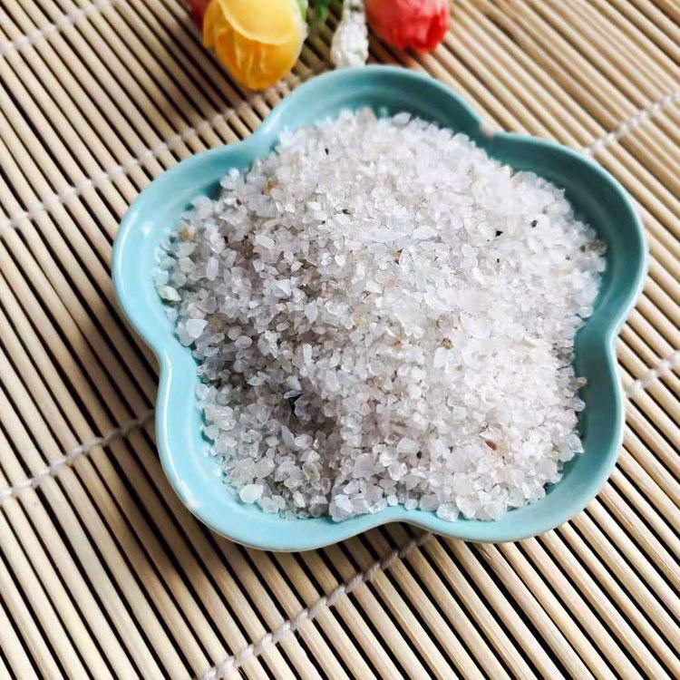 元晶矿产品 厂家供应优质石英砂-水处理用净水滤料超白精制石英砂非金属矿产