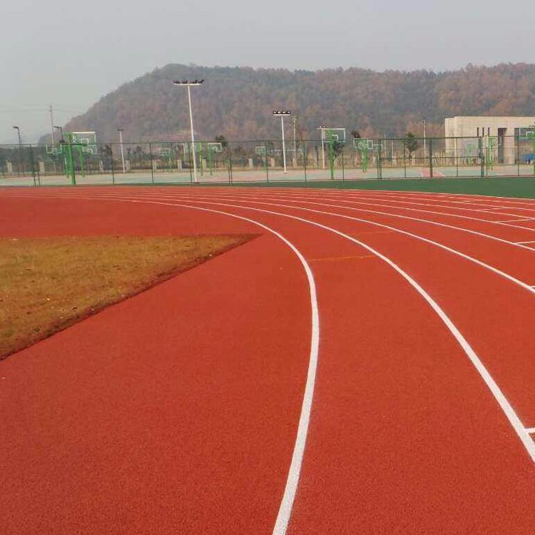 厂家供应 预制型塑胶跑道 学校塑胶跑道
