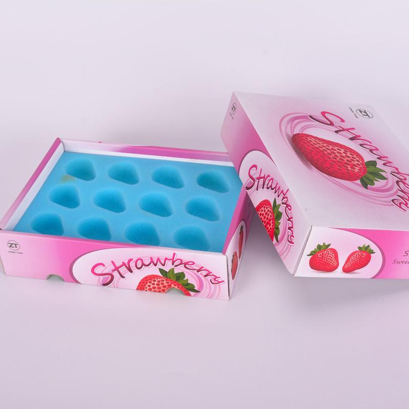 德诺包装设计水果盒礼盒深圳定制包装盒厂家直供现货