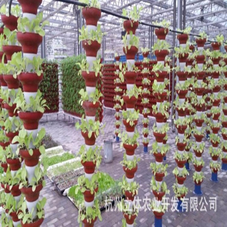 立体农业厂家直销基质培叠碗式立柱栽培景观栽培碗景观塑造定制批发