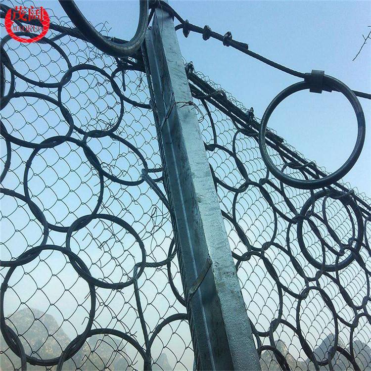 茂阔量大从优 包塑边坡防护网 绿色护坡挂网 GAR主动山体网