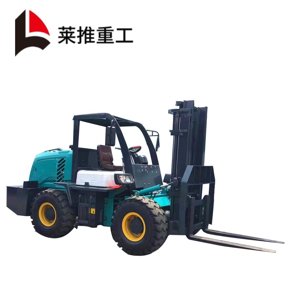 叉车 座驾式CPC30型2吨四驱叉车