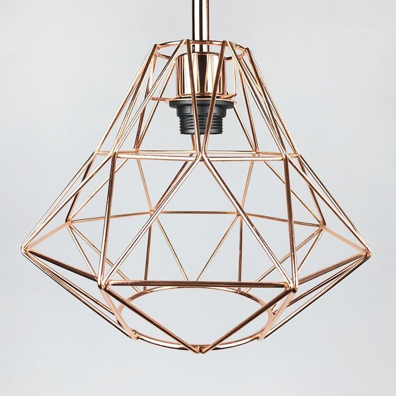 厂家加工复古铁艺小吊灯北欧美式工业风餐厅过道灯饰橱窗装饰吊灯