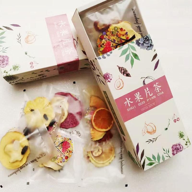 水果花草茶批发价格 100g/盒网红混合水果茶干片组合 价格实惠
