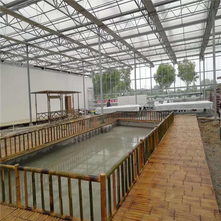 广州立体农业厂家设计各种温室大棚定制策划蔬菜无土栽培图片智慧农业