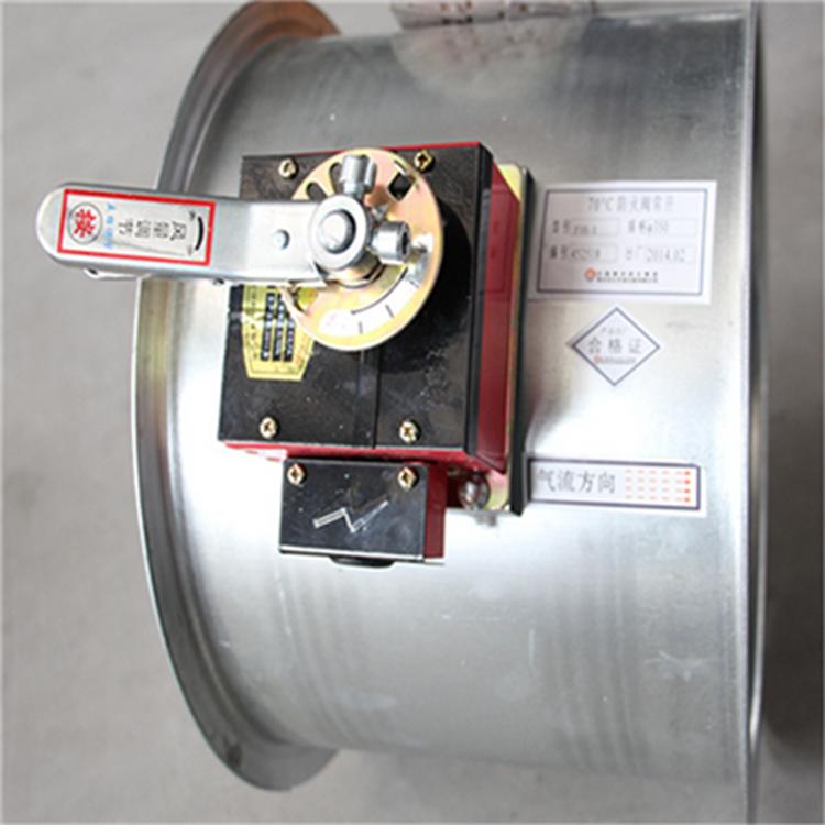 厂家制作220v镀锌电动风量对开调节阀门 镀锌风管风量阀 尺寸定制