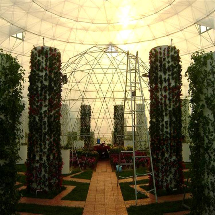 铁岭立体农业厂家设计各种温室大棚定制策划韭菜无土栽培技术视频温控大棚