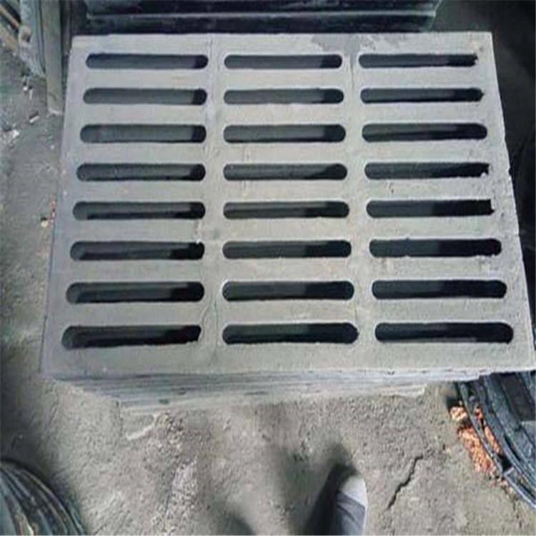 铸铁篦子厂家 批发球墨铸铁雨水篦子 订做排水沟篦子铸铁沟盖板