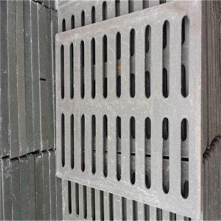 批发直销 球墨铸铁双箅雨水口 450*1500 双篦子 平篦式偏沟雨水井
