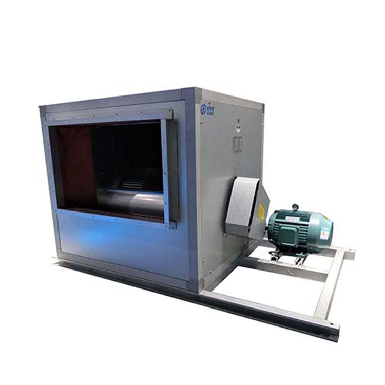 高质量厂家制作HTFC-II-28#3C双速离心风机箱高温排烟离心风机箱