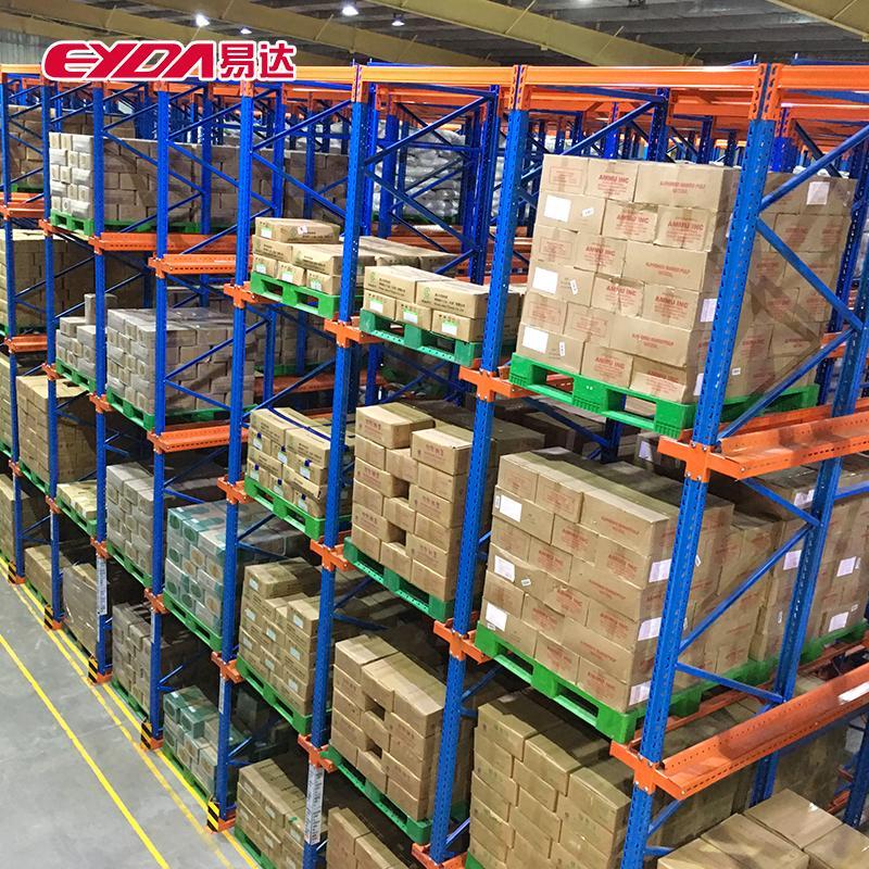 佛山食品工业仓库货架库房贯通式货架定制