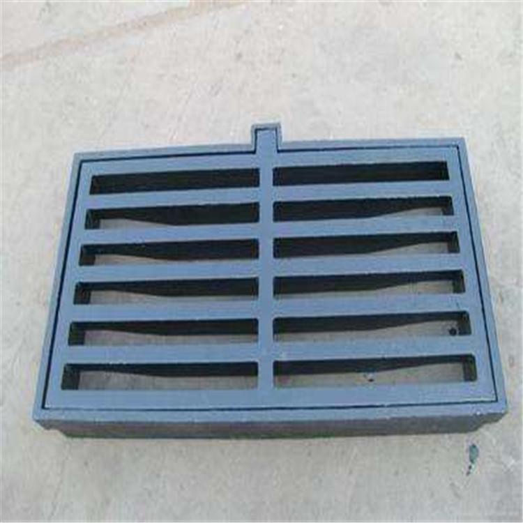 定制批发防沉降球墨铸铁雨水篦子 铸铁篦子 排水沟盖板井盖