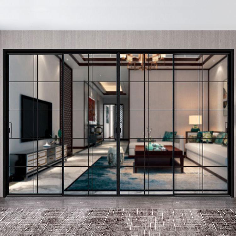 新锐家居门窗 广东高品质别墅推拉门生产厂家铝合金门窗