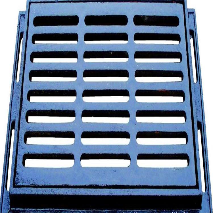 厂价直销批发球墨铸铁雨水篦子井盖排水地沟盖300*500