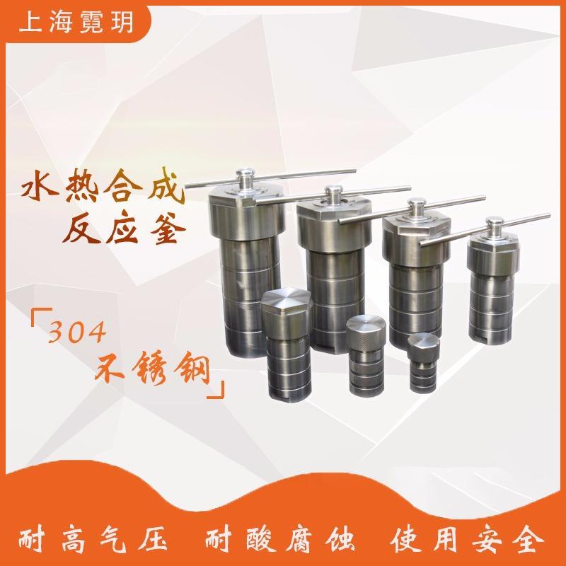 上海霓玥 新型水热合成反应釜 实验室 四氟内衬 水热合成釜