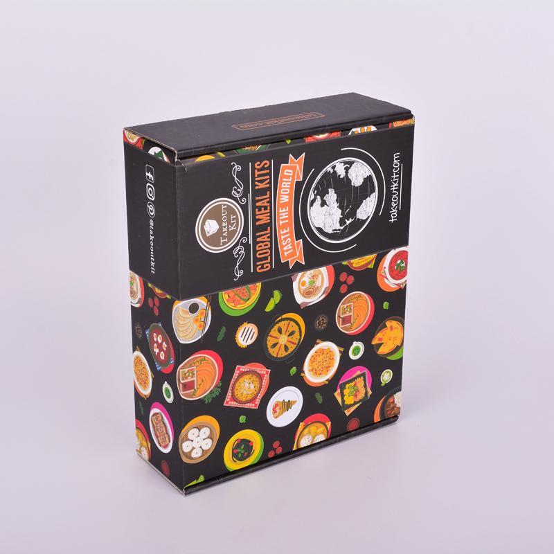 德诺包装定做翻盖食品包装盒惠州包装盒订制厂家直销