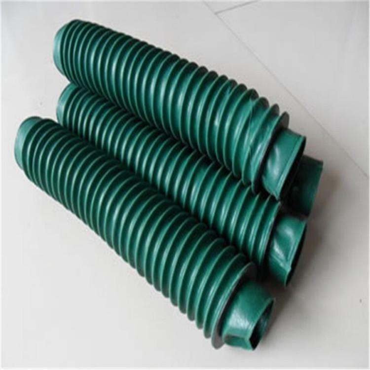 盐山县顺达 品质保证 工业防护罩 钢板伸缩式机床防护罩