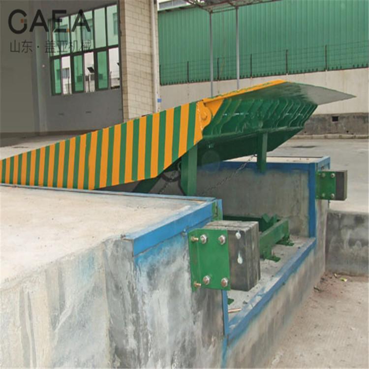 厂家定制固定式登车桥 月台装卸货平台液压固定式登车桥