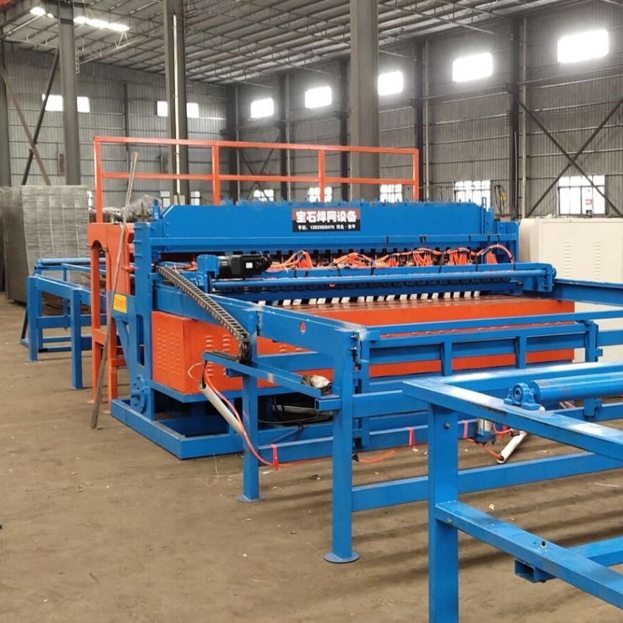 贵州重型桥梁钢筋网片焊网机12㎜网焊机特点与介绍