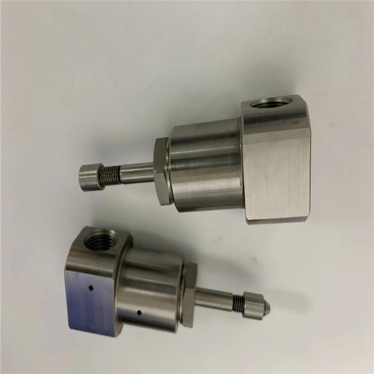 科艾德组合阀芯水刀旋转接头 维宏款AC轴喷头体定制加工生产