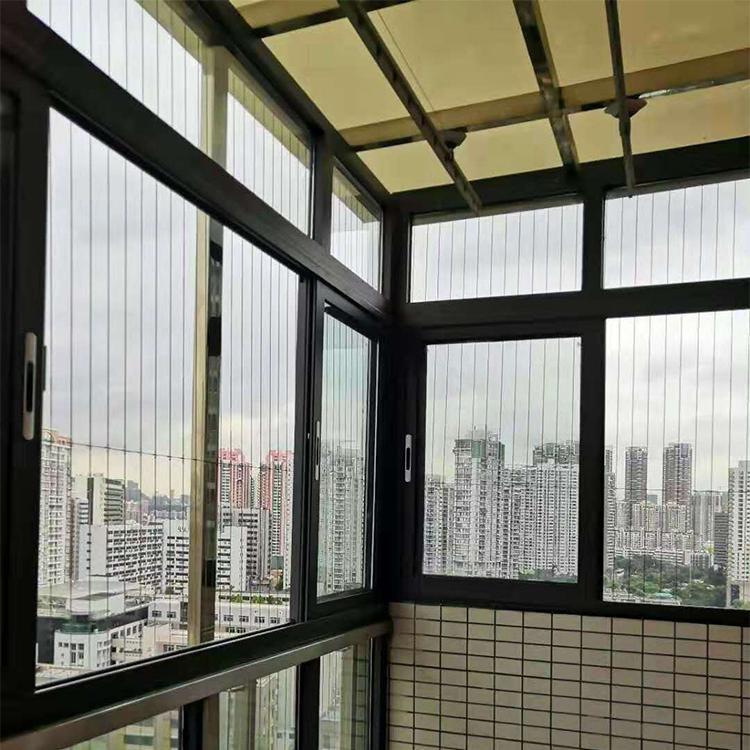 断桥窗纱一体平开窗 铝合金门窗 铝合金平开窗价格优惠 万德居厂家直销