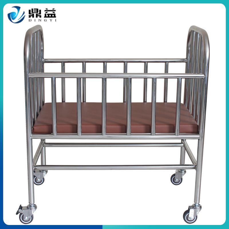 婴儿床不锈钢无漆静音轮可刹车宝宝床多功能摇篮床儿童床新生儿床