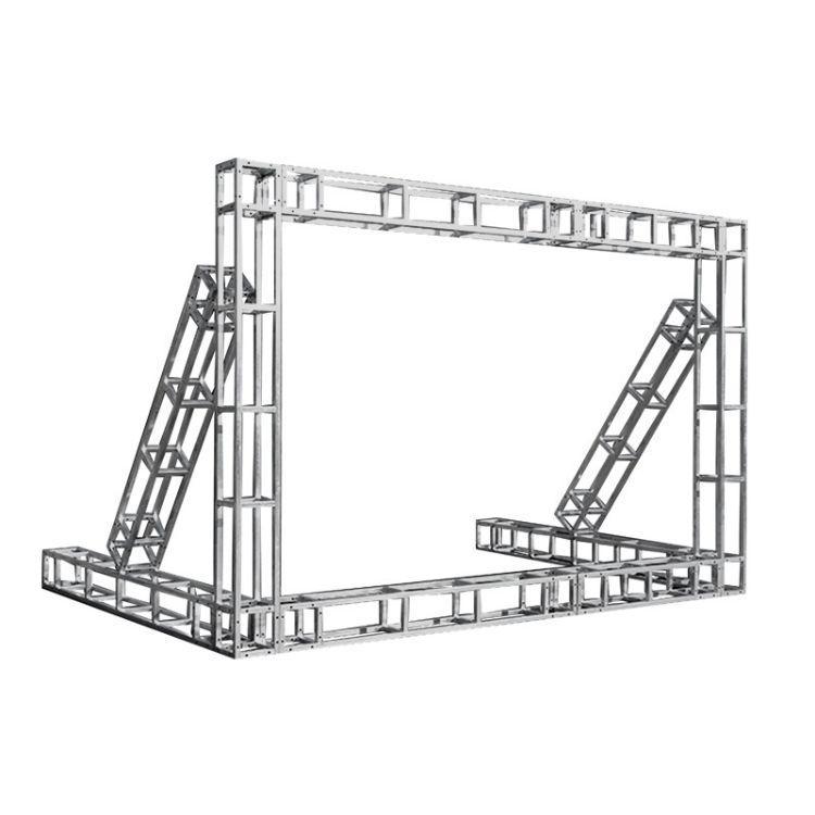 朝维直销 舞台桁架 方管加固钢铁热镀锌满焊背景优质加粗舞台背景桁架