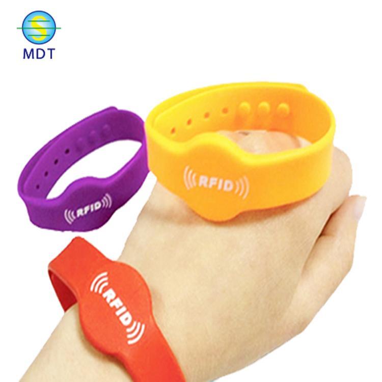 廠家定制 防水RFID腕帶 原裝S50腕帶 一卡通腕帶 全檢出貨
