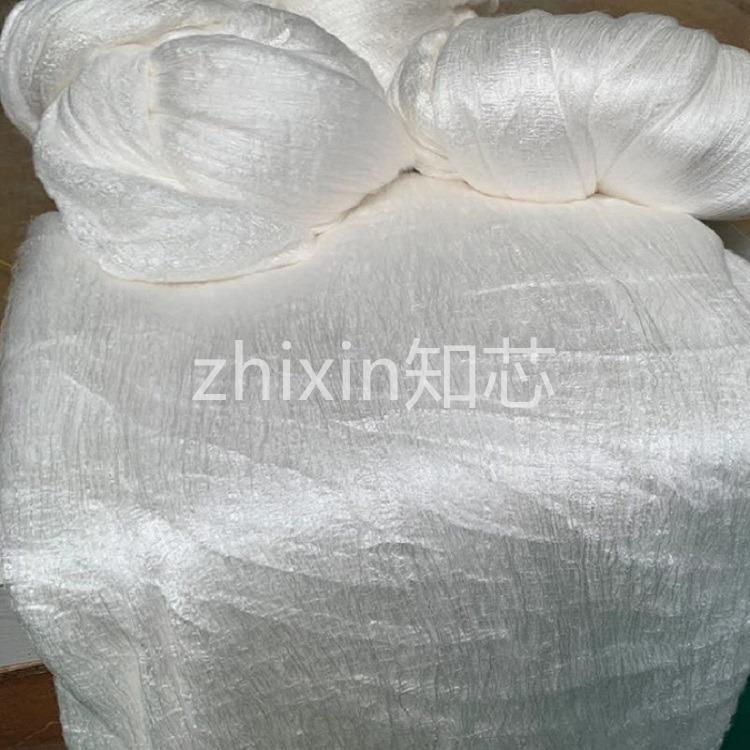 双宫绵兜桑蚕丝光胎 温暖透气 蚕丝被专用 尺寸可定制 厂家直销