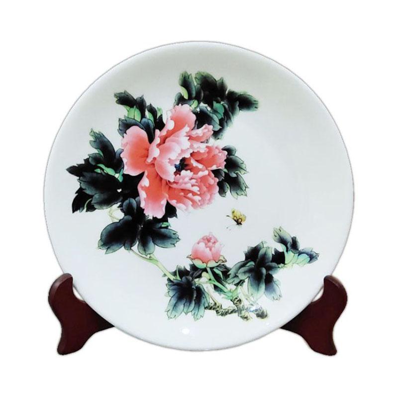 陶瓷纪念盘定制工艺品盘 商务礼品旅游纪念 盘子摆件瓷盘 厂家直销